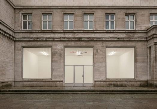 Architektur Galerie Berlin Satellit Aex