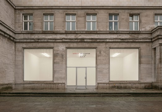 Architektur Galerie Berlin Satellit Aad